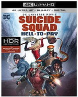 DCU: SUICIDE SQUAD - HELL TO PAY 4K BLURAY