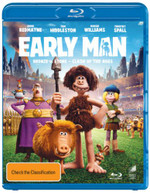EARLY MAN (BLU-RAY/UV) (2018)  [BLURAY]