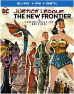 JUSTICE LEAGUE: NEW FRONTIER COMMEMORATIVE ED BLURAY