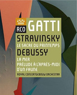 STRAVINSKY /  ROYAL CONCERTGEBOUW ORCHESTRA - STRAVINSKY: LE SACRE BLURAY