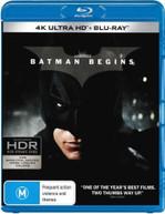 BATMAN BEGINS (4K UHD/BLU-RAY) (2005)  [BLURAY]