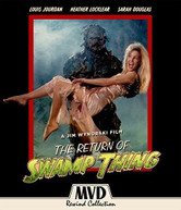 RETURN OF SWAMP THING BLURAY