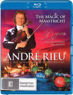 ANDRE RIEU AND HIS JOHANN STRAUSS ORCHESTRA: THE MAGIC OF MAASTRICHT [BLURAY]