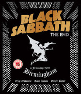BLACK SABBATH - END: BIRMINGHAM - 4 FEBRUARY 2017 BLURAY