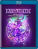 LABYRINTH - RETURN TO LIVE BLURAY