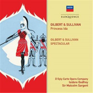 D'OYLY CARTE OPERA COMPANY - GILBERT AND SULLIVAN: PRINCESS IDA; GILBERT AND SULLIVAN SPECTACULAR (2CD) * CD