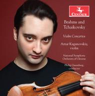 BRAHMS /  KAGANOVSKIY - VIOLIN CONCERTOS CD