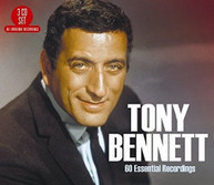 TONY BENNETT - 60 ESSENTIAL RECORDINGS CD