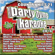 PARTY TYME KARAOKE: COUNTRY HITS 21 / VARIOUS CD