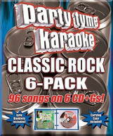 PARTY TYME KARAOKE: CLASSIC ROCK / VARIOUS CD