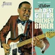 MICKY BAKER - RETURN OF THE WILDEST GUITAR CD