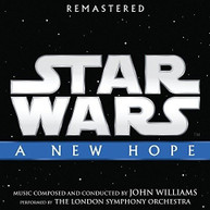 JOHN WILLIAMS - STAR WARS: A NEW HOPE / SOUNDTRACK CD
