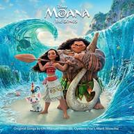 MOANA: THE SONGS / SOUNDTRACK CD