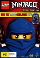 LEGO NINJAGO: MASTERS OF SPINJITZU - SEASON 2 VOLUMES 3 + 4 (2012)  [DVD]