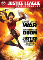 JUSTICE LEAGUE: WAR / DOOM / CRISIS ON 2 EARTHS DVD