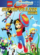 LEGO DC SUPER HERO GIRLS: SUPER -VILLAIN HIGH DVD