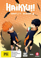 HAIKYU!!: SEASON 2 (2014)  [DVD]