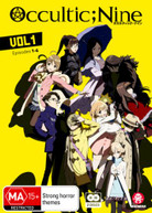 OCCULTIC;NINE: VOLUME 1 (EPISODES 1 - 6) (2016)  [DVD]