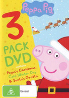PEPPA PIG CHRISTMAS TRIPLE PACK (2017)  [DVD]