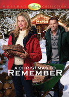 CHRISTMAS TO REMEMBER DVD