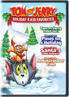 TOM & JERRY HOLIDAY 4 KID FAVORITES DVD