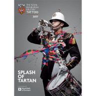 VARIOUS ARTISTS - THE ROYAL EDINBURGH MILITARY TATTOO 2017 - SPLASH OF TARTAN * DVD
