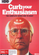 CURB YOUR ENTHUSIASM: THE COMPLETE SERIES 1 - 8 (2000)  [DVD]