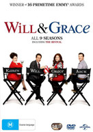 WILL AND GRACE: SEASON 1 - 9 (1998)  [DVD]
