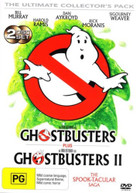 GHOSTBUSTERS / GHOSTBUSTERS 2 (1984)  [DVD]
