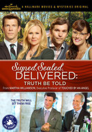 SIGNED SEALED DELIVERED: TRUTH BE TOLD DVD