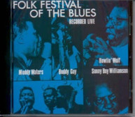 FOLK FESTIVAL OF THE BLUES WITH MUDDY WATERS / VAR VINYL