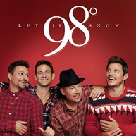 98 DEGREES - LET IT SNOW VINYL