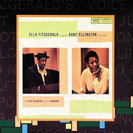 ELLA FITZGERALD - SINGS THE DUKE ELLINGTON SONGBOOK VINYL