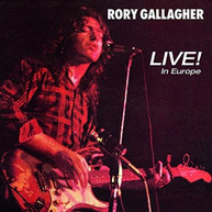 RORY GALLAGHER - LIVE IN EUROPE VINYL
