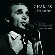 CHARLES AZNAVOUR - IL FAUT SAVOIR / JE M'VOYIAS DEJA VINYL