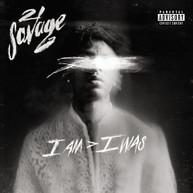 21 SAVAGE - I AM I WAS CD