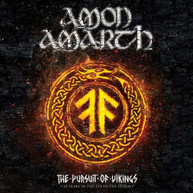AMON AMARTH - PURSUIT OF VIKINGS: 25 YEARS IN THE EYE OF STORM BLURAY.