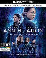 ANNIHILATION 4K BLURAY