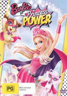 BARBIE IN PRINCESS POWER (DVD RENTAL) (2014)  [DVD]