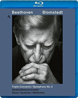 BEETHOVEN /  FAUST / BLOMSTEDT - BEETHOVEN: TRIPLE CONCERTO & BLURAY
