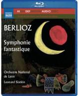 BERLIOZ /  ORCH NATIONAL DE LYON / SLATKIN - SYMPHONIE FANTASTIQUE BLURAY