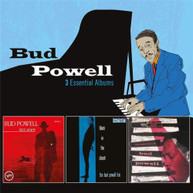 BUD POWELL - 3 ESSENTIAL ALBUMS * CD