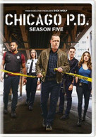 CHICAGO PD: SEASON FIVE DVD