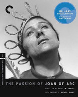 CRITERION COLLECTION: PASSION OF JOAN OF ARC BLURAY