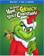 DR SEUSS: HOW THE GRINCH STOLE CHRISTMAS BLURAY