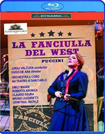 FANCIULLA DEL WEST BLURAY