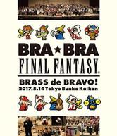 FINAL FANTASY - BRA BRA FINAL FANTASY BRASS DE BRAVO 2017 WITH BLURAY