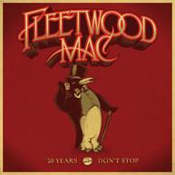 FLEETWOOD MAC - 50 YEARS - DON'T STOP CD.