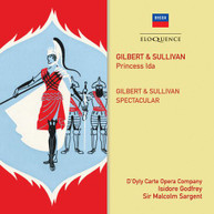 GILBERT &  SULLIVAN / D'OYLY CARTE OPERA COMPANY - GILBERT & SULLIVAN: CD.