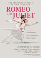 JOHN CRANKO'S ROMEO & JULIET DVD